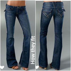 William Rast Belle Flared Jeans 25